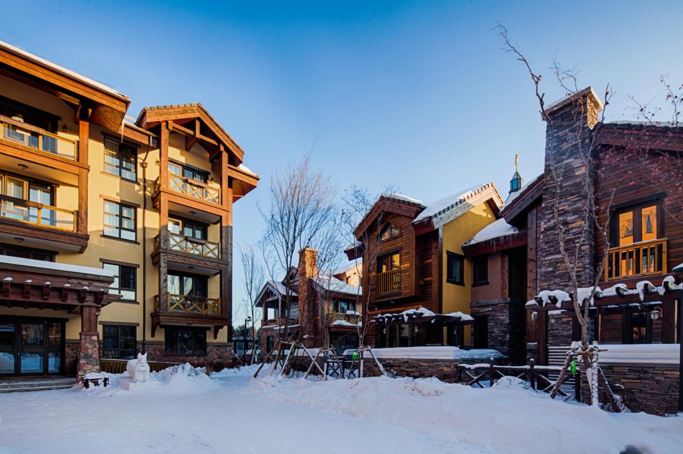冬季公寓实景图