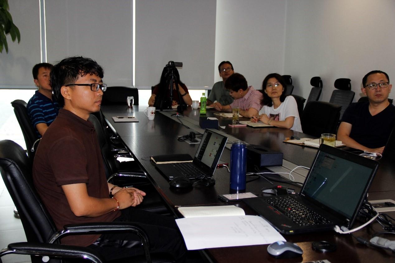 公司7月20日组织内部培训